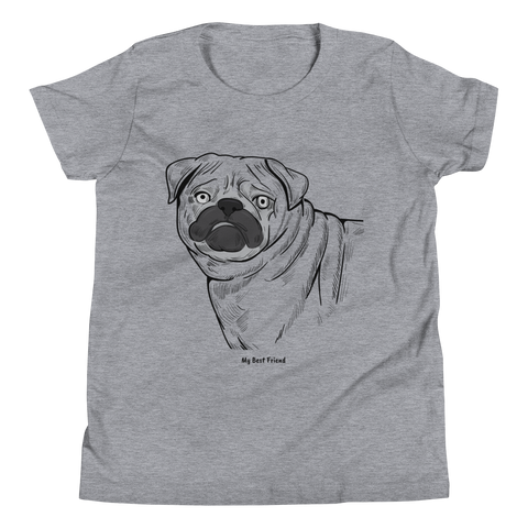 Pug - Unisex Youth Short Sleeve Tee