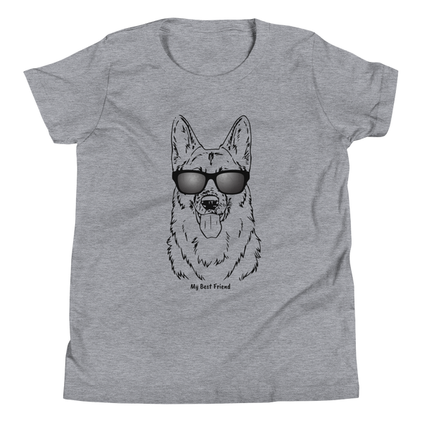 German Shepherd - Unisex Youth Short Sleeve Tee