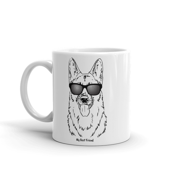 German Shepherd - Mug