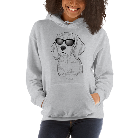 Beagle - Unisex Heavy Blend Hooded Sweatshirt