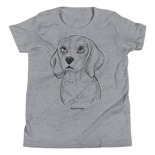 Beagle - Unisex Youth Short Sleeve Tee