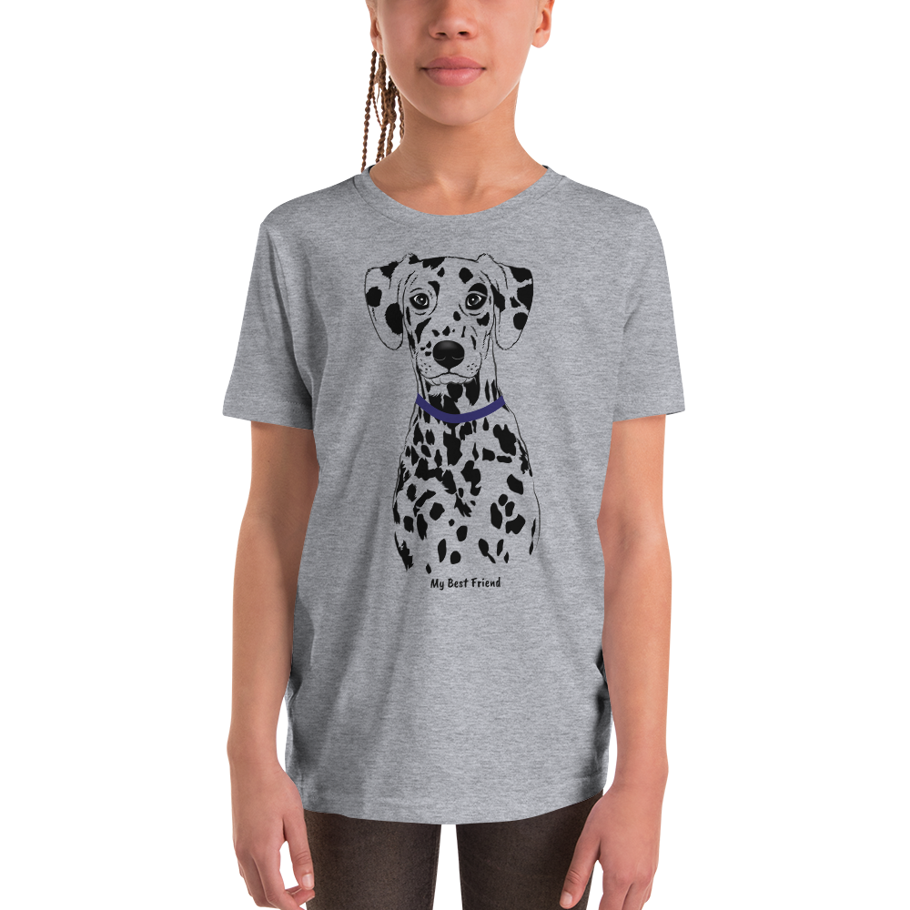 Dalmatian - Unisex Youth Short Sleeve Tee
