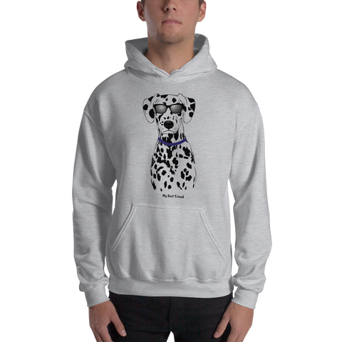 Dalmatian - Unisex Heavy Blend Hooded Sweatshirt