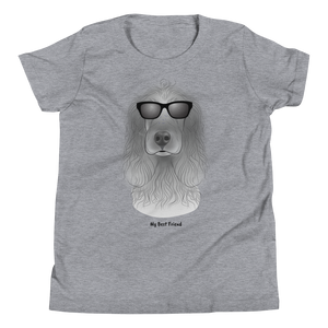 Cocker Spaniel - Unisex Youth Short Sleeve Tee