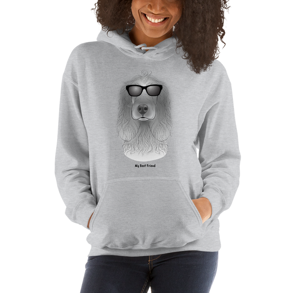 Cocker Spaniel - Unisex Heavy Blend Hooded Sweatshirt