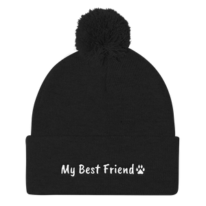 My Best Friend - Pom Pom Knit Cap