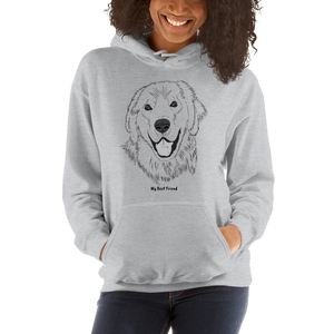 Golden Retriever - Unisex Heavy Blend Hooded Sweatshirt