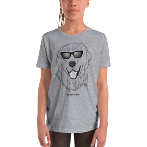 Golden Retriever - Unisex Youth Short Sleeve Tee