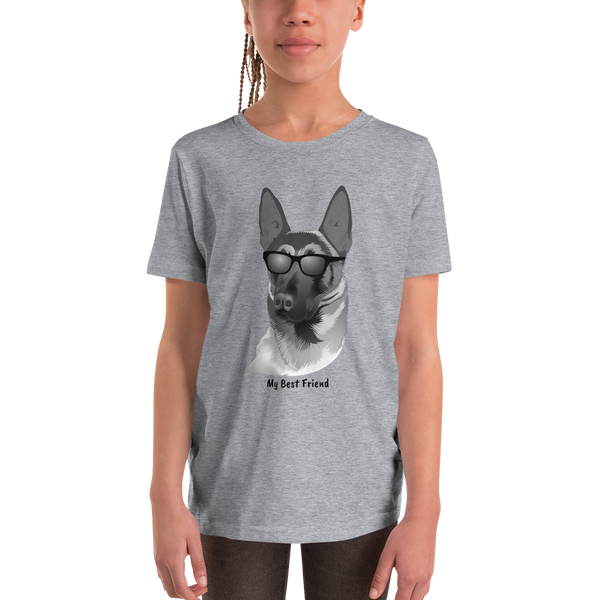 Belgian Malinois - Unisex Youth Short Sleeve Tee