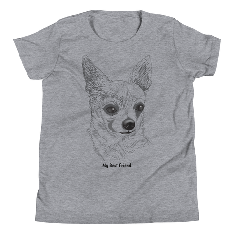 Chihuahua - Unisex Youth Short Sleeve Tee