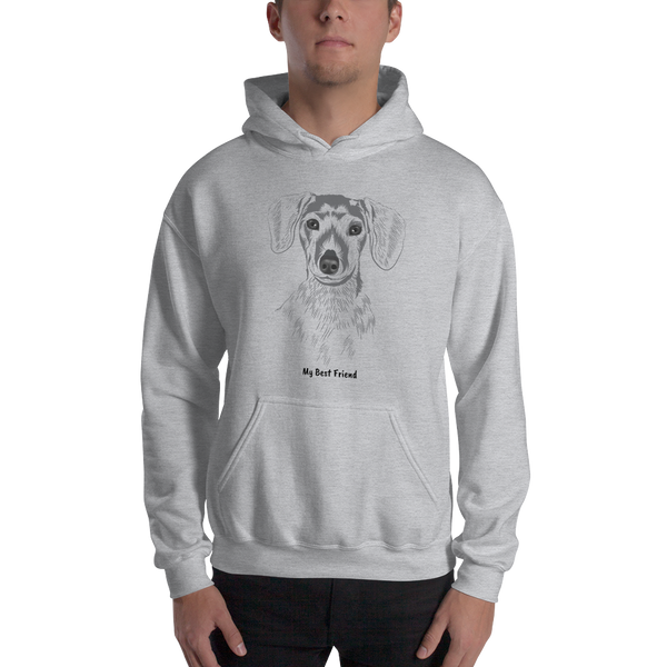 Dachshund - Unisex Heavy Blend Hooded Sweatshirt