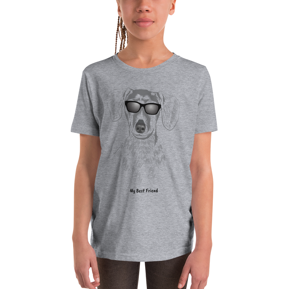 Dachshund - Unisex Youth Short Sleeve Tee