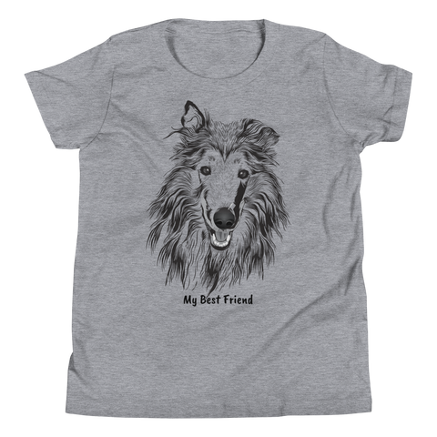 Collie - Unisex Youth Short Sleeve Tee