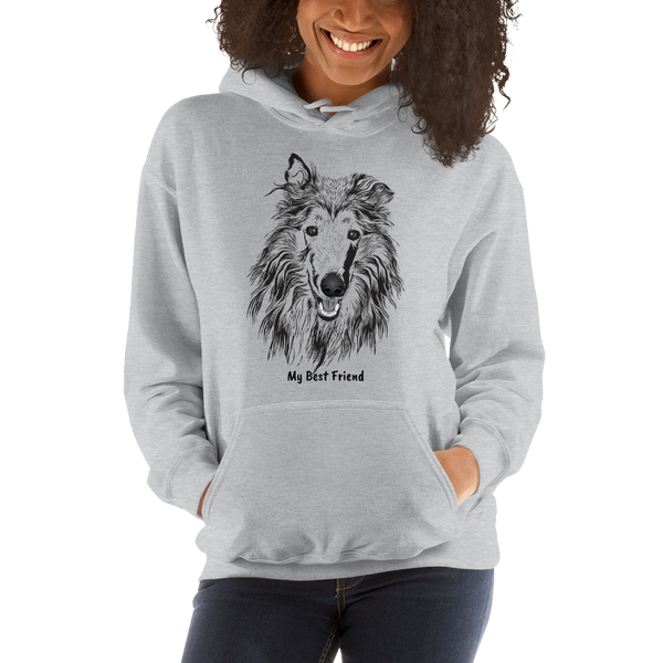 Collie - Unisex Heavy Blend Hooded Sweatshirt