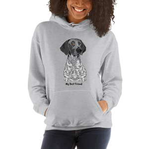 German Shorthair Pointer - Unisex Heavy Blend Hooded Sweatshirt