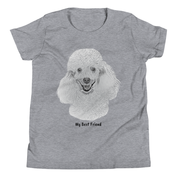 Poodle - Unisex Youth Short Sleeve Tee