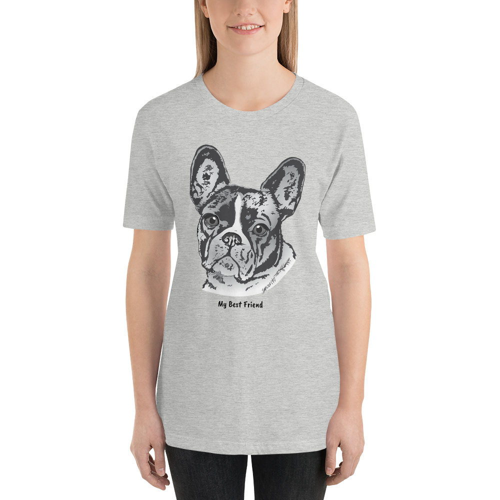 French Bulldog - Tee Shirt – My Best Friend Apparel