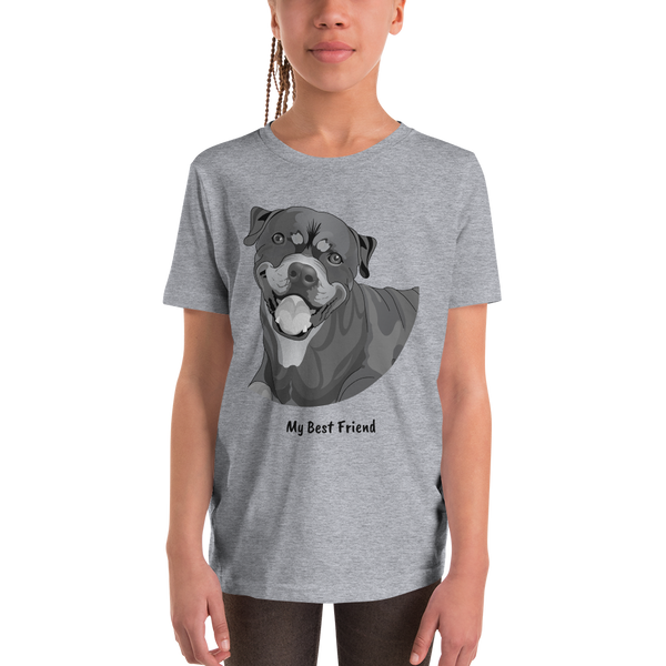 Rottweiler - Unisex Youth Short Sleeve Tee