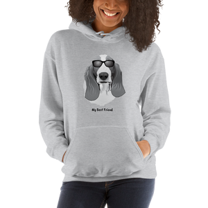 Basset Hound - Unisex Heavy Blend Hooded Sweatshirt