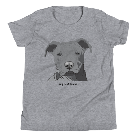 Pitbull - Unisex Youth Short Sleeve Tee