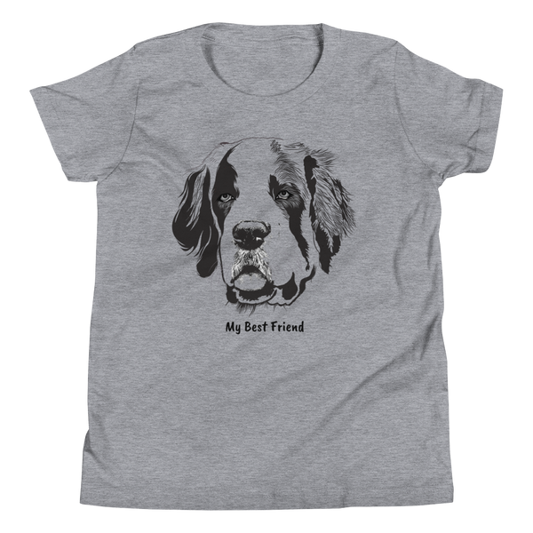 St Bernard - Unisex Youth Short Sleeve Tee