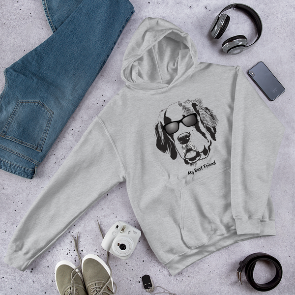 St Bernard- Unisex Heavy Blend Hooded Sweatshirt