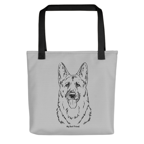 German Shepherd - Tote Bag