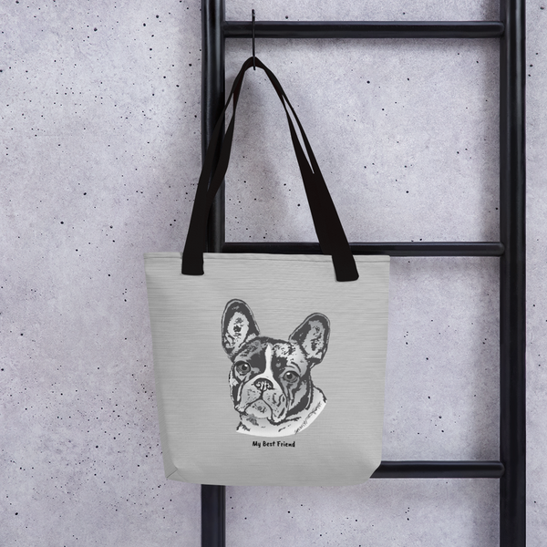 French Bulldog - Tote Bag
