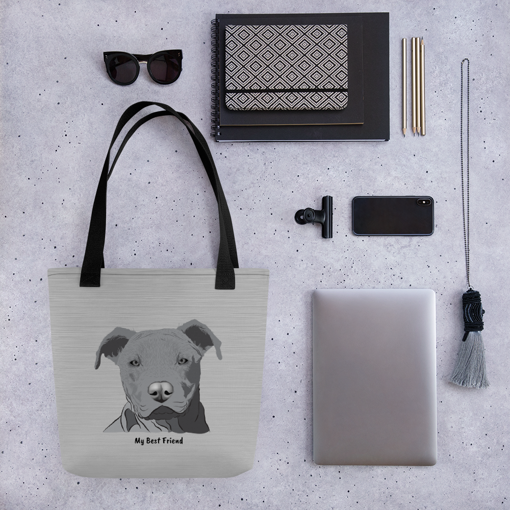Pitbull - Tote Bag