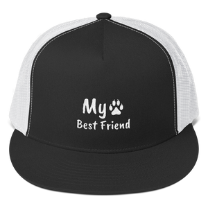 My Best Friend - 5 Panel Trucker Hat