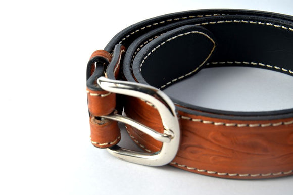 Brown Carabao Leather Belt