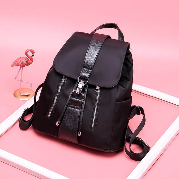 Vodiu Black Backpack