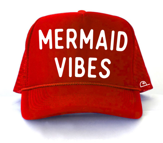 MERMAID VIBES - RED - Youth