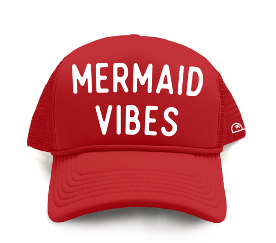 MERMAID VIBES -RED - Youth Toddler