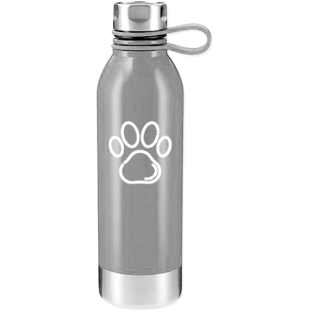 WATER BOTTLE - PAW PRINT