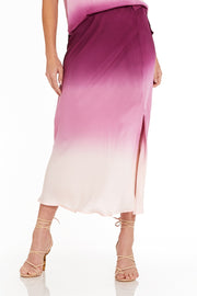Felicity Skirt in Berry Ombre