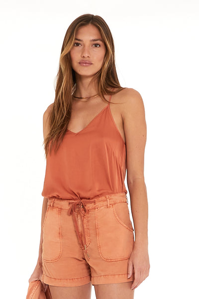Mi Amor Top In Butternut