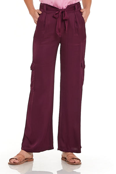 Winslow Pant In Berry
