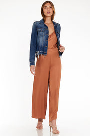 Aiko Pant In Tobacco