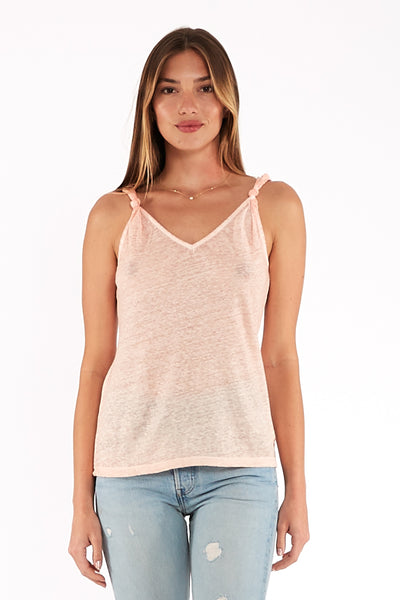 Tamar Tank in Nude Oil Wash