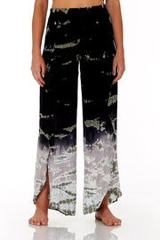Palms Pants In Black Jungle Wash