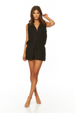 Lorren Romper In Black