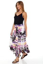 Bali Skirt In Orchid Dominica Wash