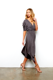 LEONA DRESS IN GREY
