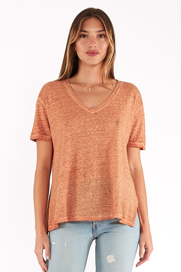 Dilly Tee in Butternut Oil Wash