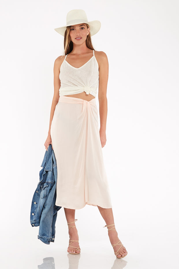 Savanna Skirt In Guava