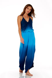 Palms Pants In Pool Blue Ombre