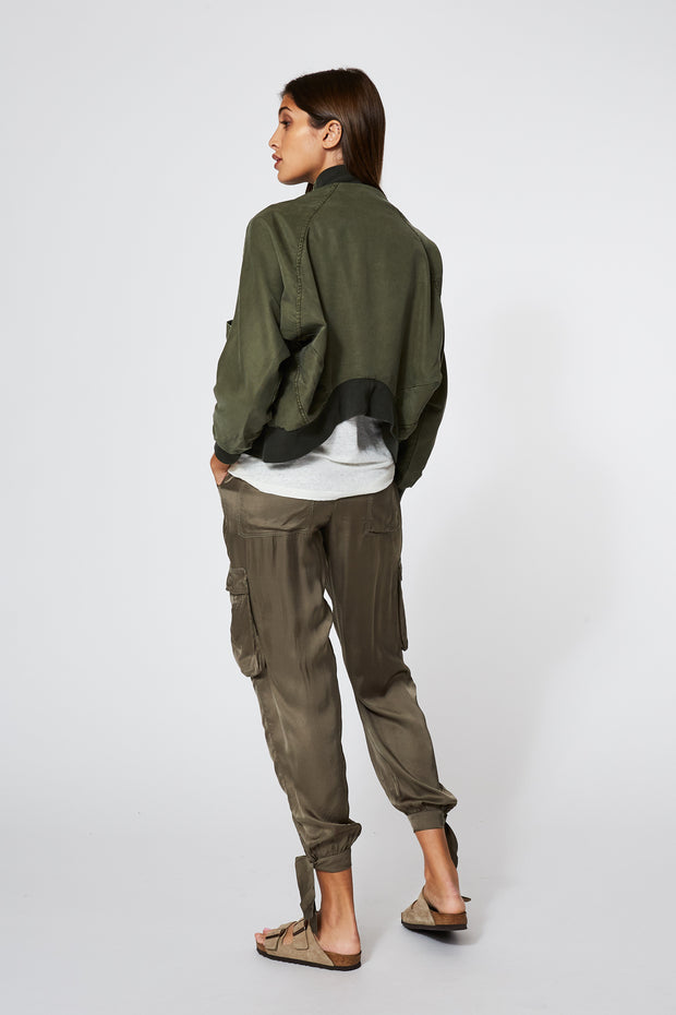 Fara Jacket In Pine Pigment