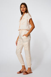 Truman Jumpsuit in Guava