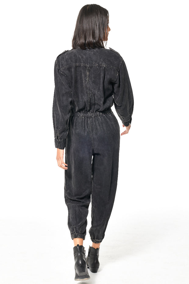 Flight Jumpsuit // Black Gold Mineral